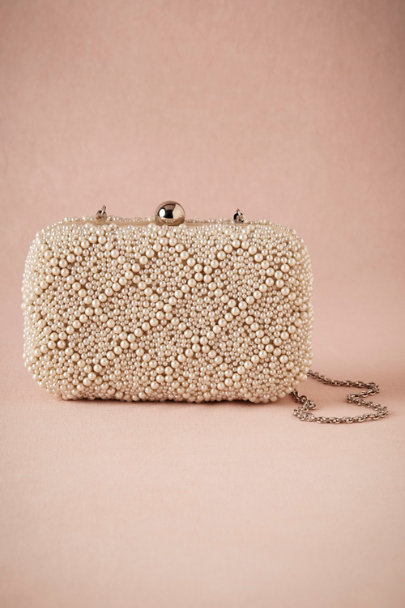 PEARL Geo Pearl Clutch | BHLDN