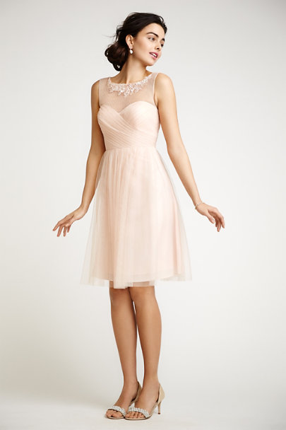 Jenny Yoo Blush Chloe Dress | BHLDN