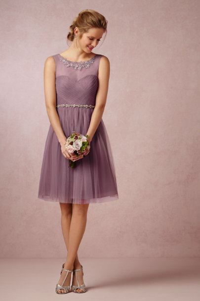 Jenny Yoo soft plum Chloe Dress | BHLDN