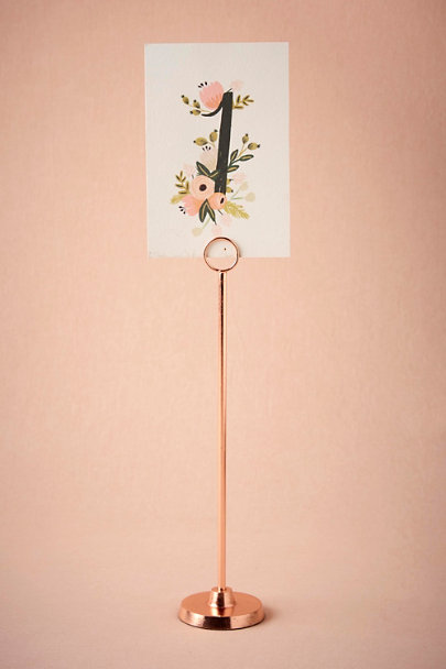Rose Golden Spindle Cardholder | BHLDN