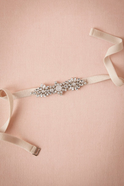 Jenny Yoo champagne Mischka Fitted Belt | BHLDN