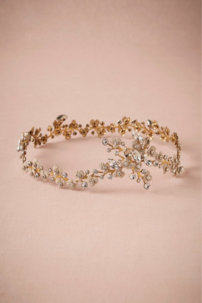 Debra Moreland Neutral Motif Midsummer Circlet | BHLDN