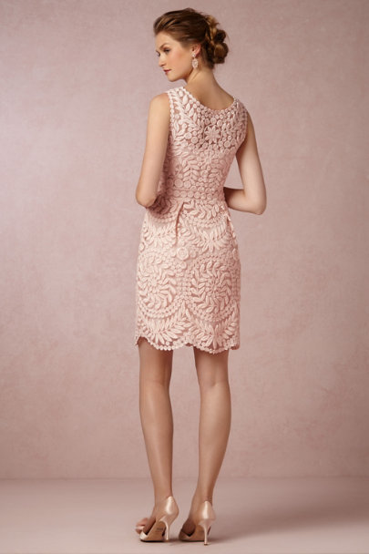 Yoana Baraschi blush Sienna Dress | BHLDN