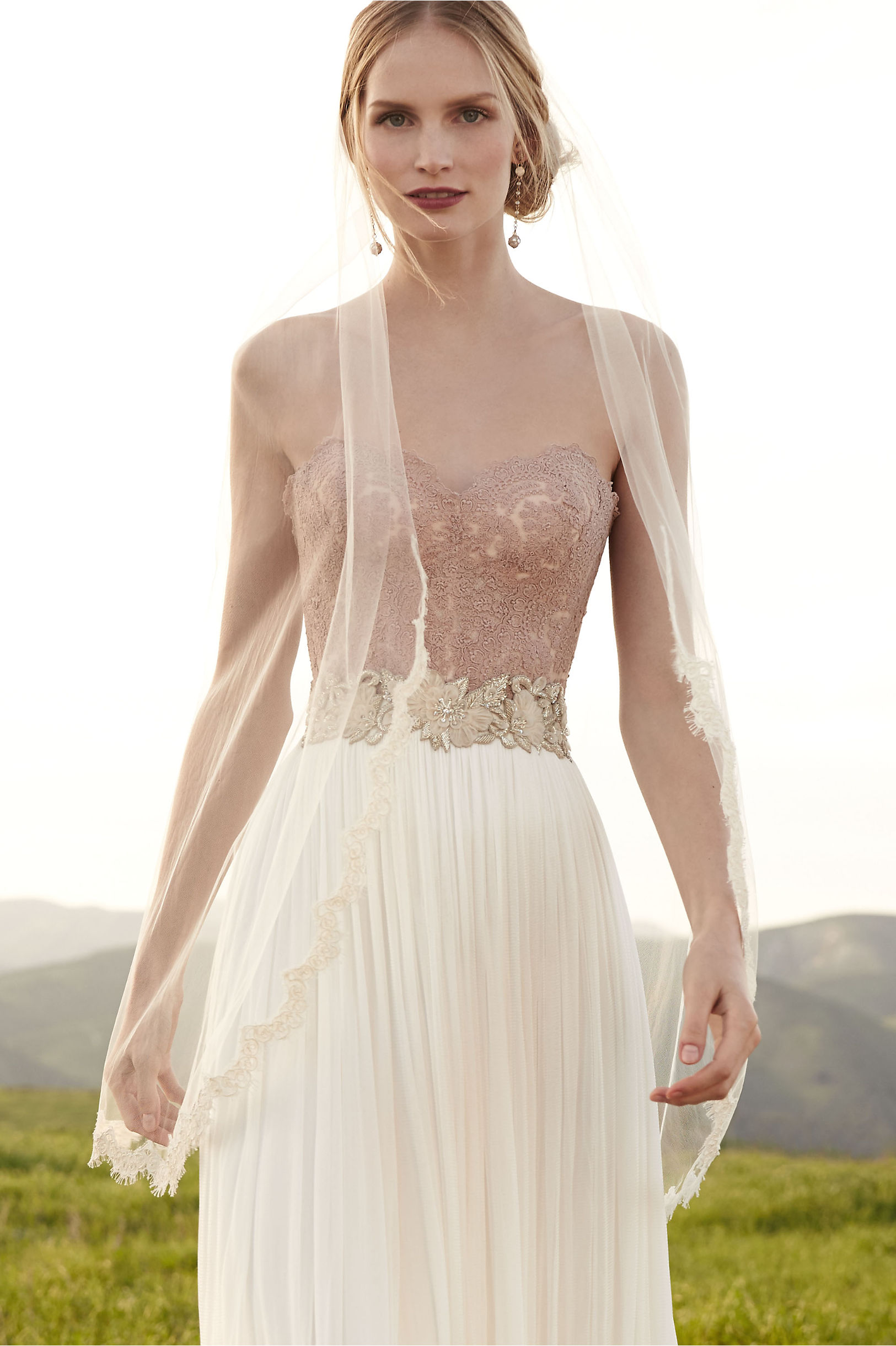 carina corset wedding dress corset top Blush Carina Corset BHLDN