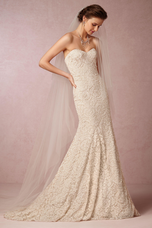 Wedding Anthropologie Wedding Dress adelaide gown in sale bhldn ivory bhldn
