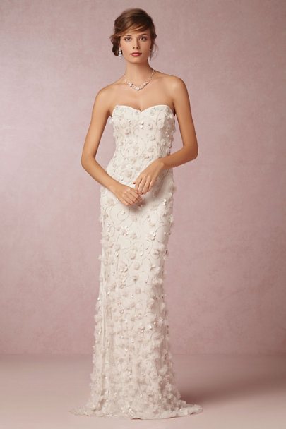 snow Ava Gown | BHLDN