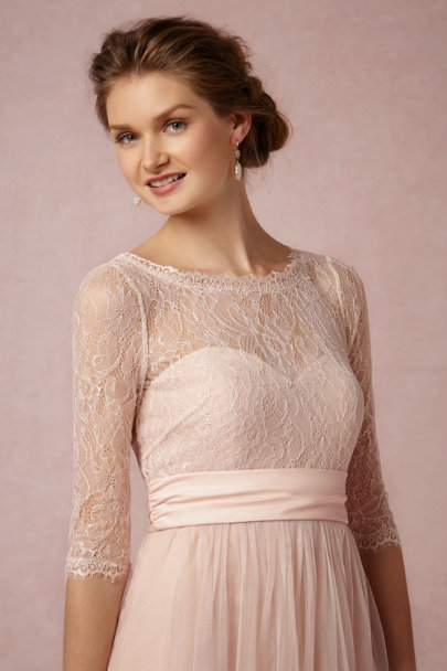 Jenny Yoo blush Marnie Topper | BHLDN