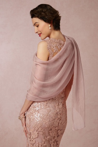 ROSE Orchid Wrap | BHLDN