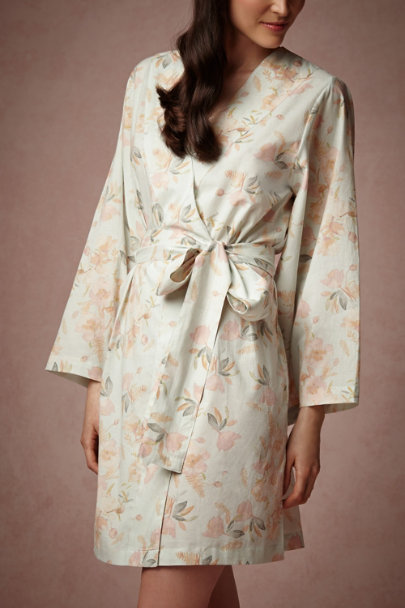 Anais Painted Petal Robe | BHLDN