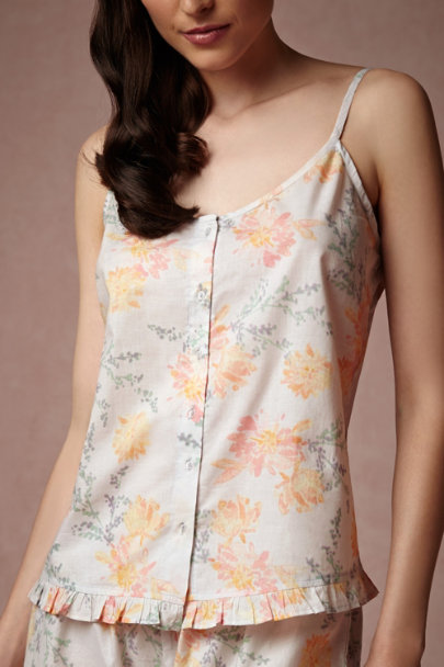 willa Watercolor Blooms Camisole | BHLDN