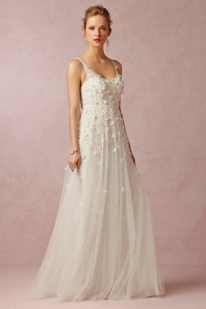 Jenny Yoo snow Luisa Gown | BHLDN