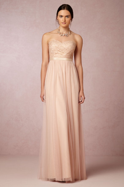 Jenny Yoo cameo pink Juliette Dress | BHLDN
