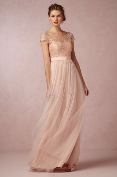 Jenny Yoo cameo pink Camille Topper | BHLDN