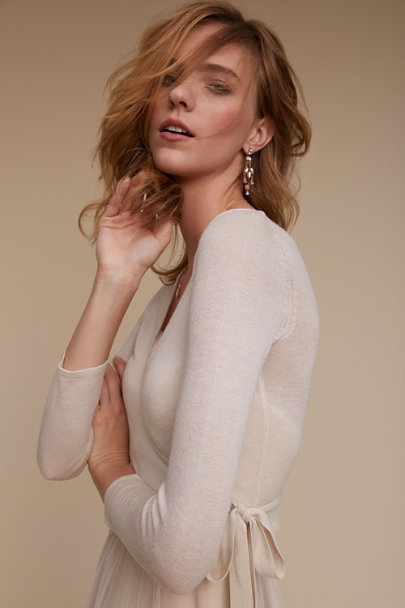 ivory Angelina Wrap | BHLDN