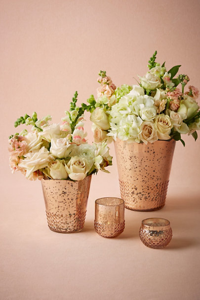 gold Late Afternoon Vases | BHLDN