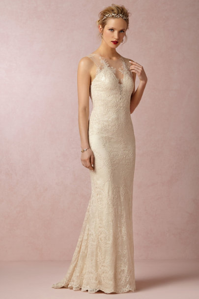 Catherine Deane Cream Yasmin Gown | BHLDN