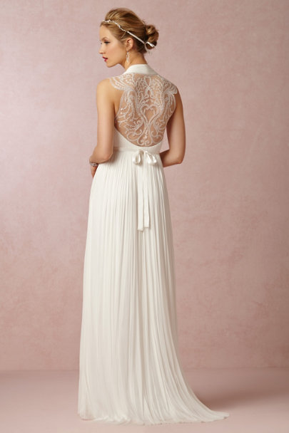 Catherine Deane ivory Wing Gown | BHLDN