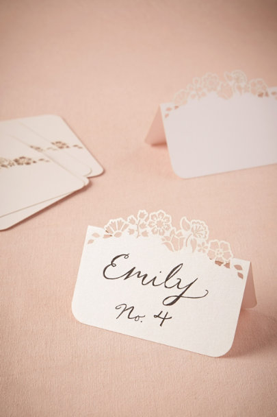 ivory Hilltop Place Cards (8) | BHLDN