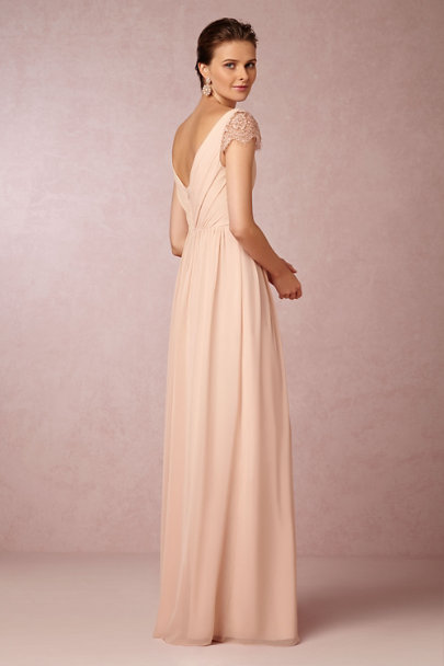 Jenny Yoo blush Evangeline Dress | BHLDN