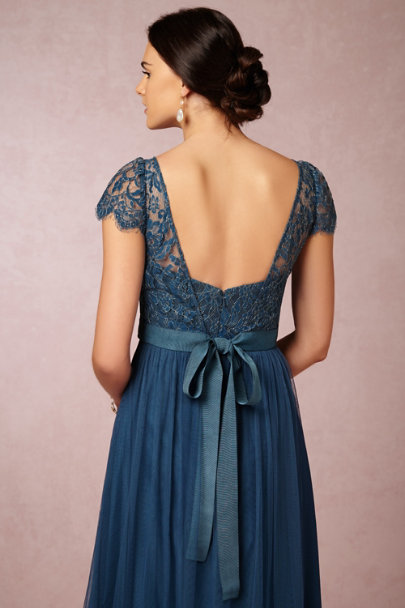 Jenny Yoo lapis Camille Topper | BHLDN