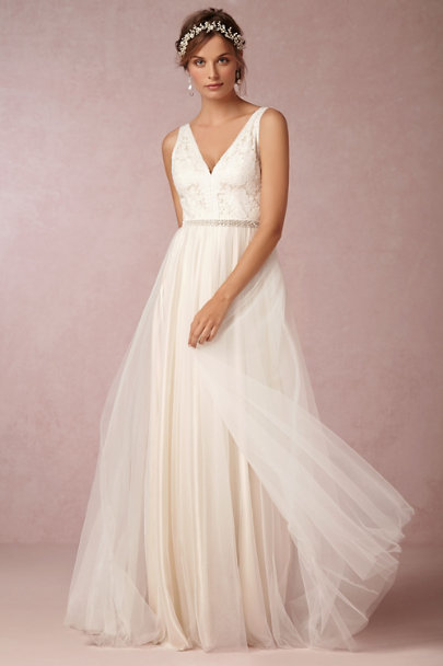 Twigs & Honey Pearl Pearly Dreams Halo | BHLDN