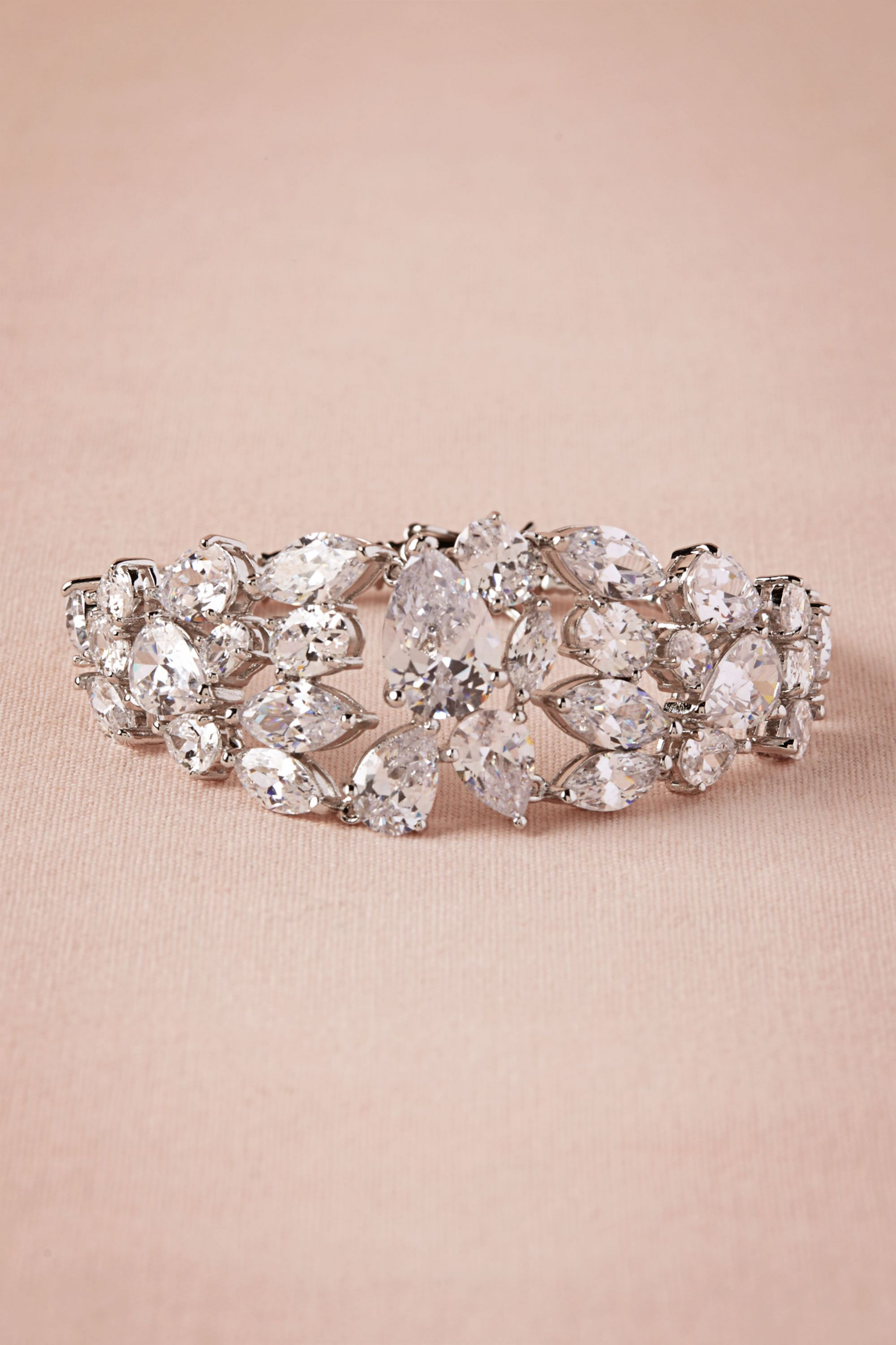 Vintage wedding jewelry for brides from BHLDN