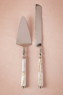 Pearled Serving Set