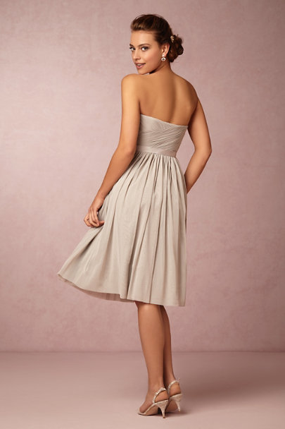 dove grey Cordelia Dress | BHLDN
