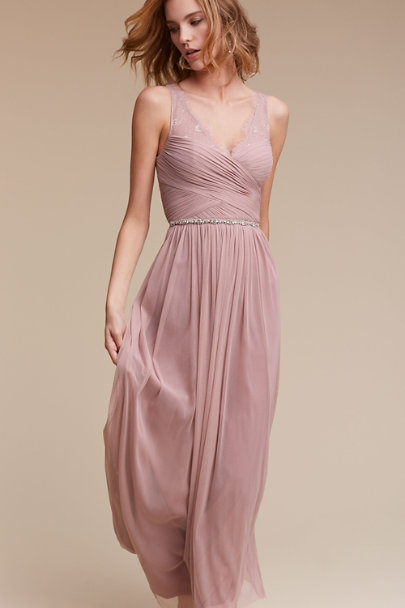 Hitherto rose quartz Fleur Dress | BHLDN