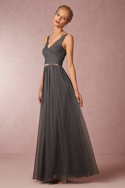 Hitherto pewter Fleur Dress | BHLDN