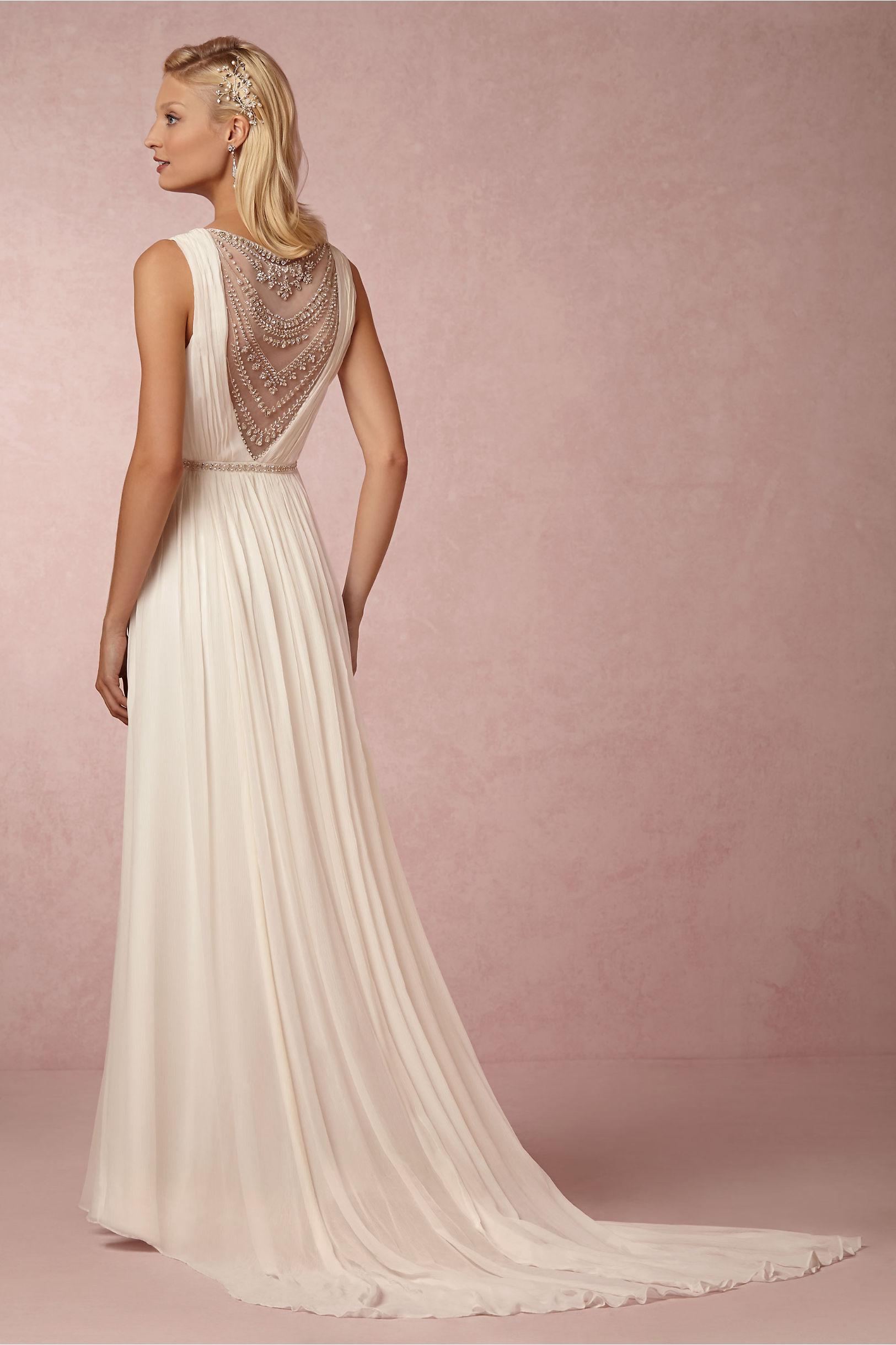 Hermosa Nicole Miller Elizabeth Vestido De Novia Composición ...