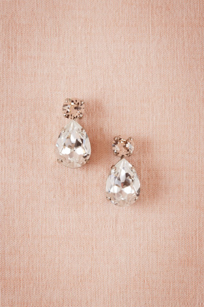 Sorrelli Silk/Clear Layla Drop Earrings | BHLDN