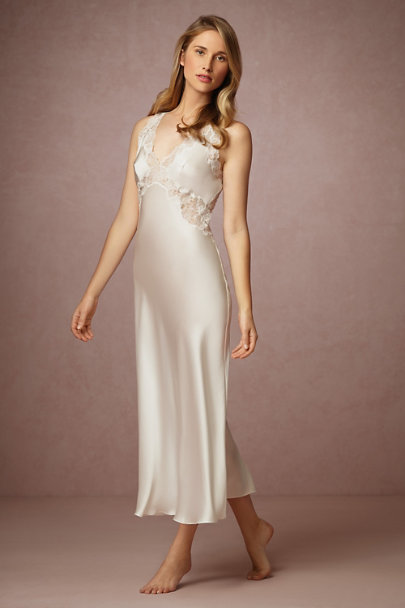 Henriette open back gown in bride bhldn for What undergarments for wedding dress shopping