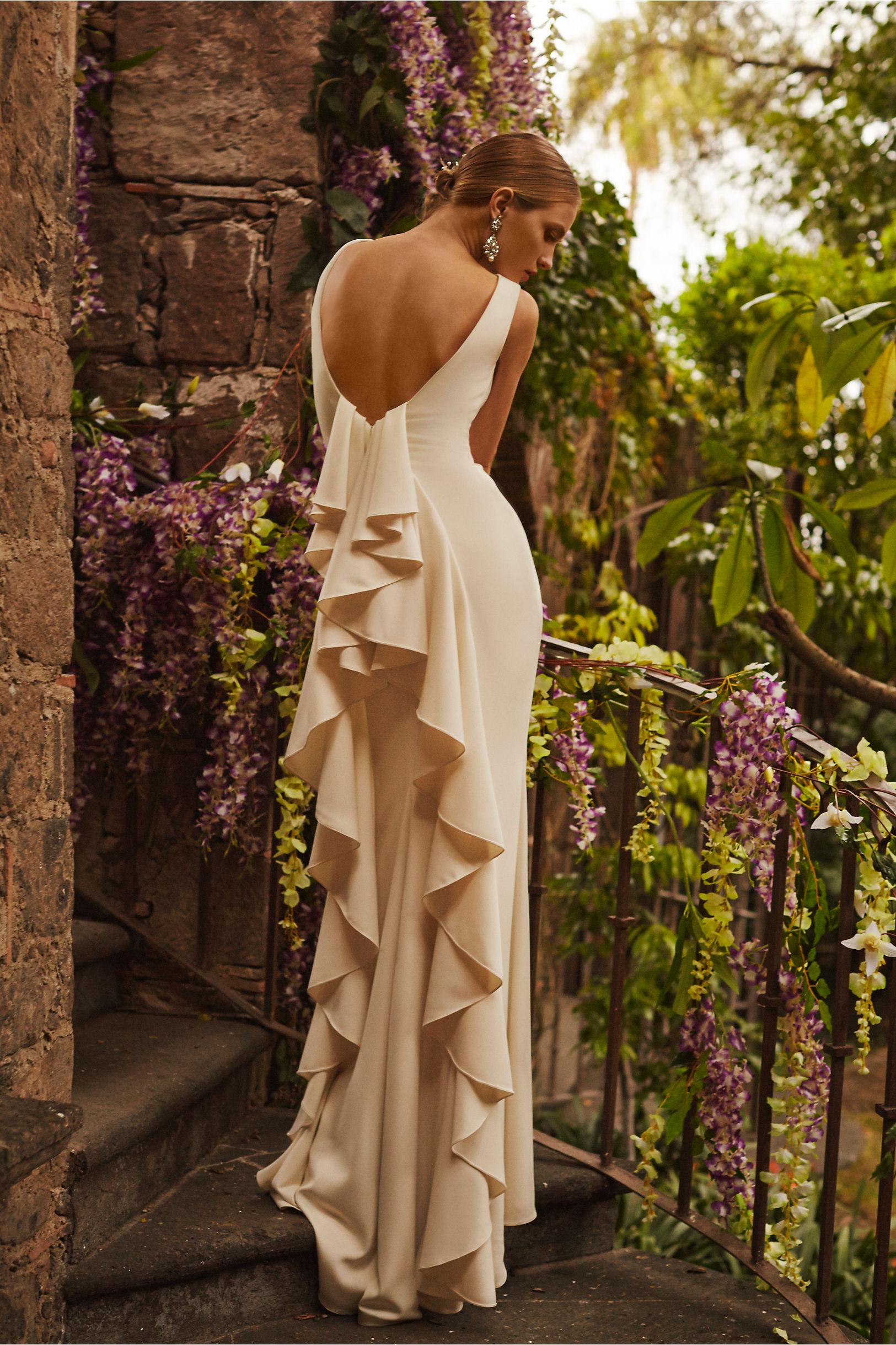 BHLDN Odessa Gown Badgley Mischka Wedding Dress – fashion dresses