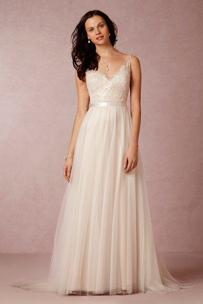 Persiphone gown in sale wedding dresses bhldn for Bhldn wedding dress sale