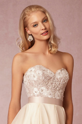 maelin corset  priya skirt in bride  bhldn