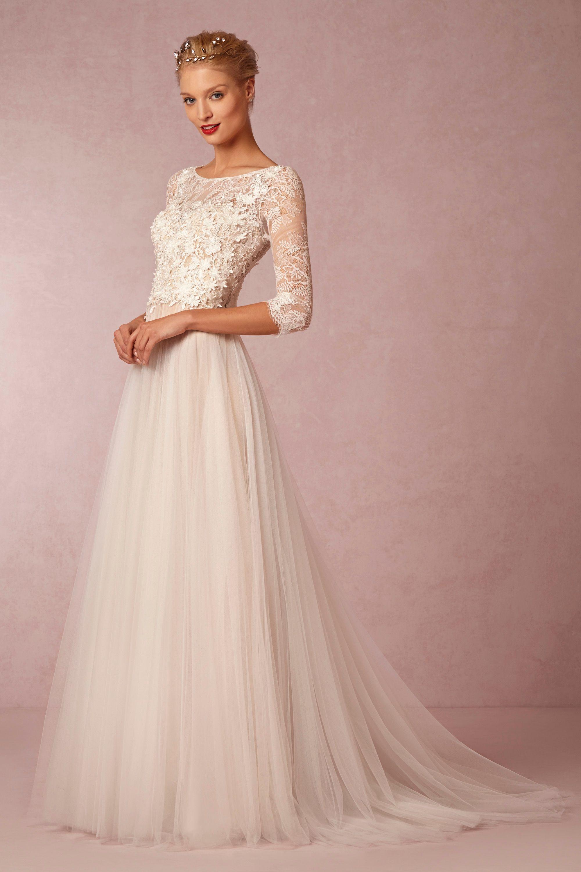 Wedding Anthropologie Wedding Dress ivory fabienne gown bhldn 17 best images about wedding dresses on watters ivorynude amelie bhldn