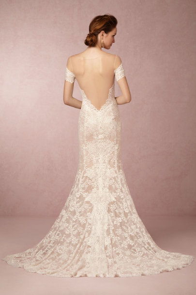 Mila gown in sale wedding dresses bhldn for Bhldn wedding dress sale