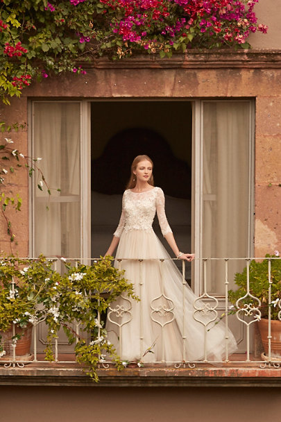 Heather Hawkins Clear Cubism Drops | BHLDN