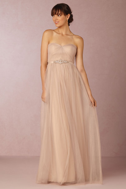 Jenny Yoo sandstone Annabelle Dress | BHLDN