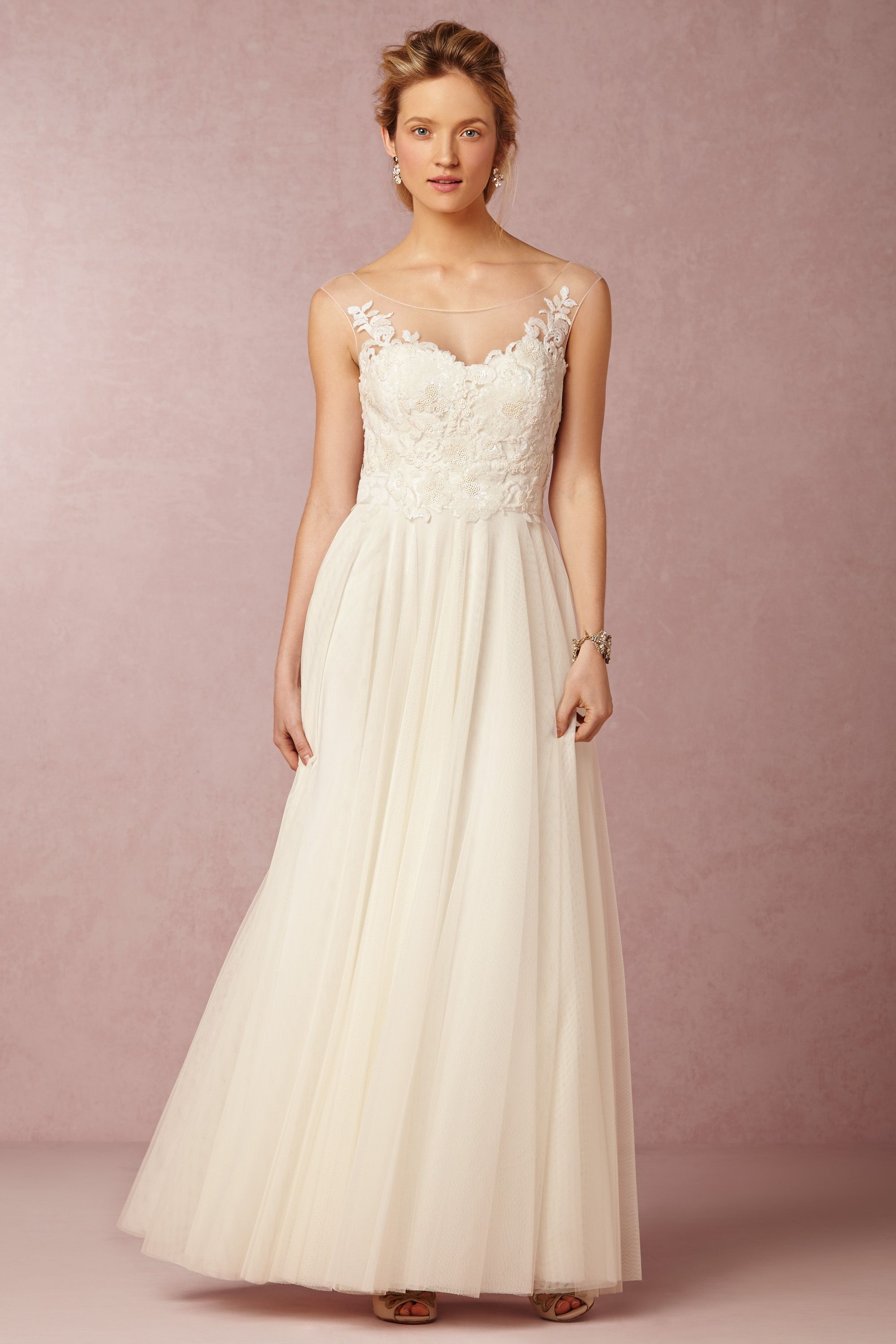 Lucca maxi for Anthropologie beholden wedding dress