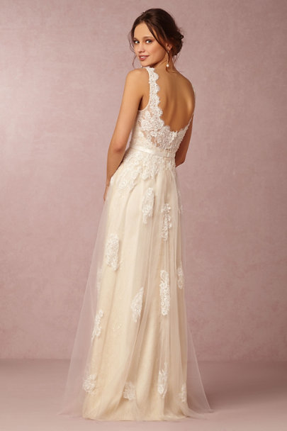 Ivory Georgia Gown | BHLDN