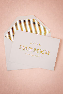 To My Father Card