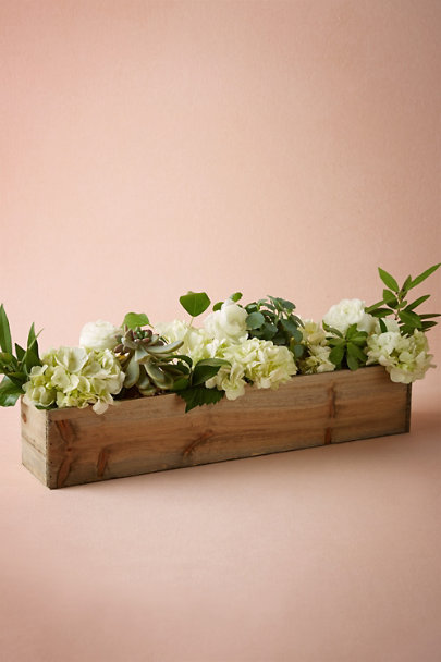 Wooden box planters in sale bhldn