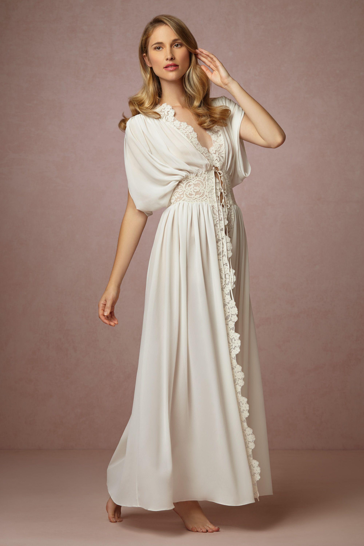 Lila Lace Robe