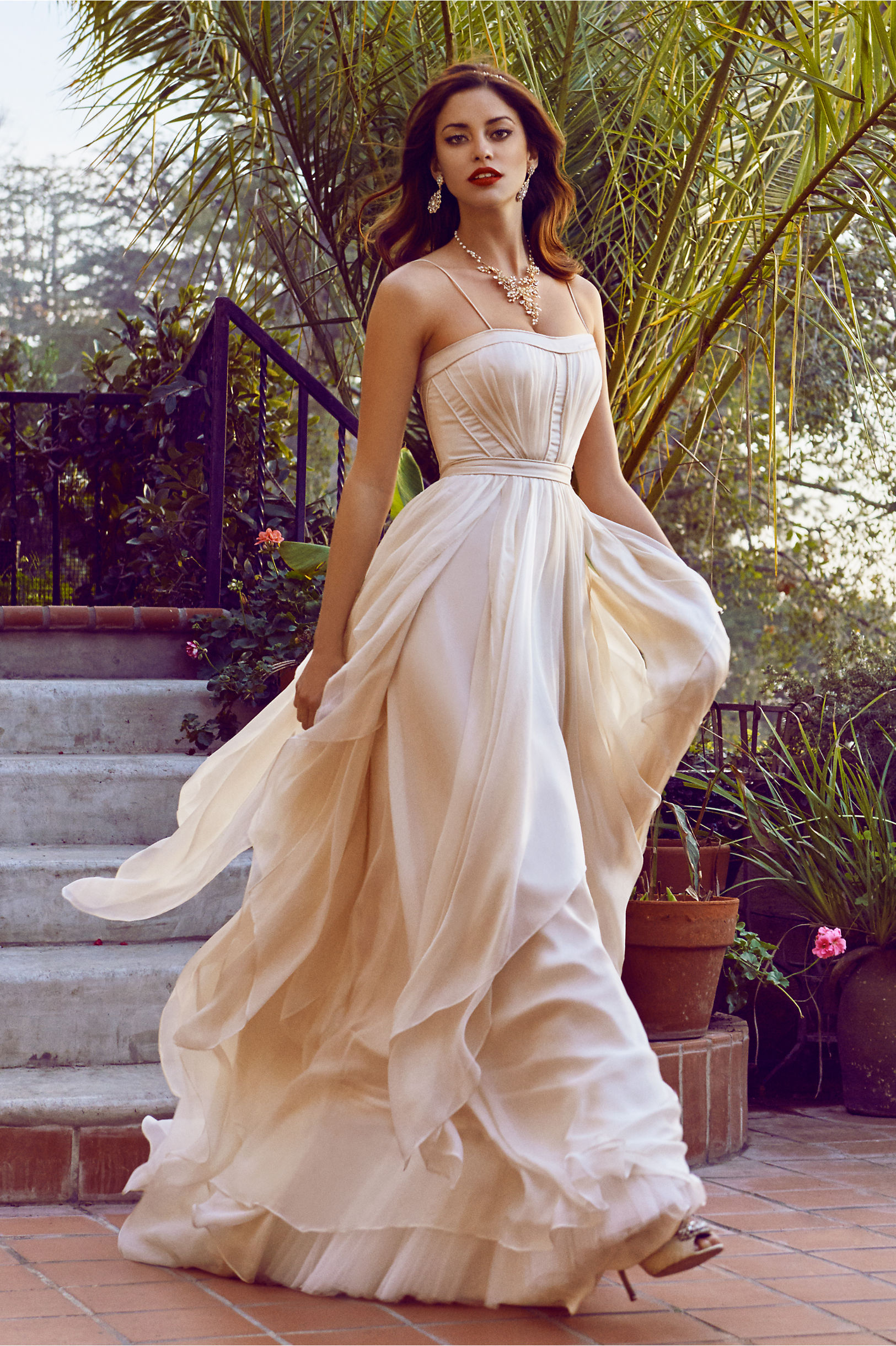 destination wedding gown