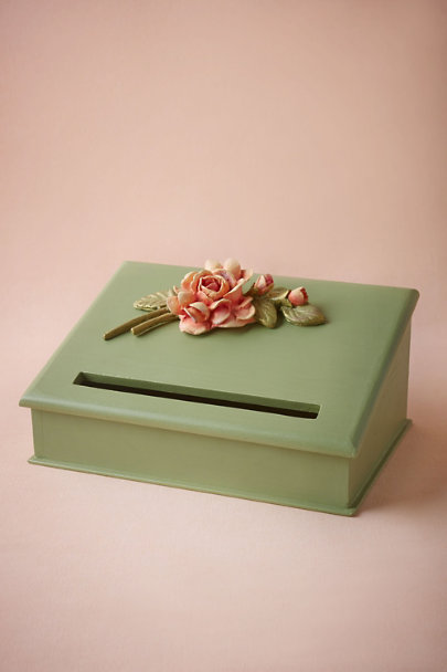 Mint Rosy Envelope Holder | BHLDN