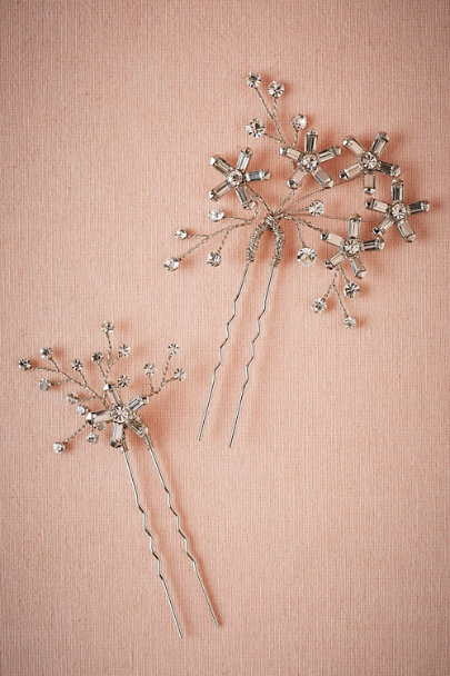 Twigs & Honey Silver Stargazer Bobbies | BHLDN