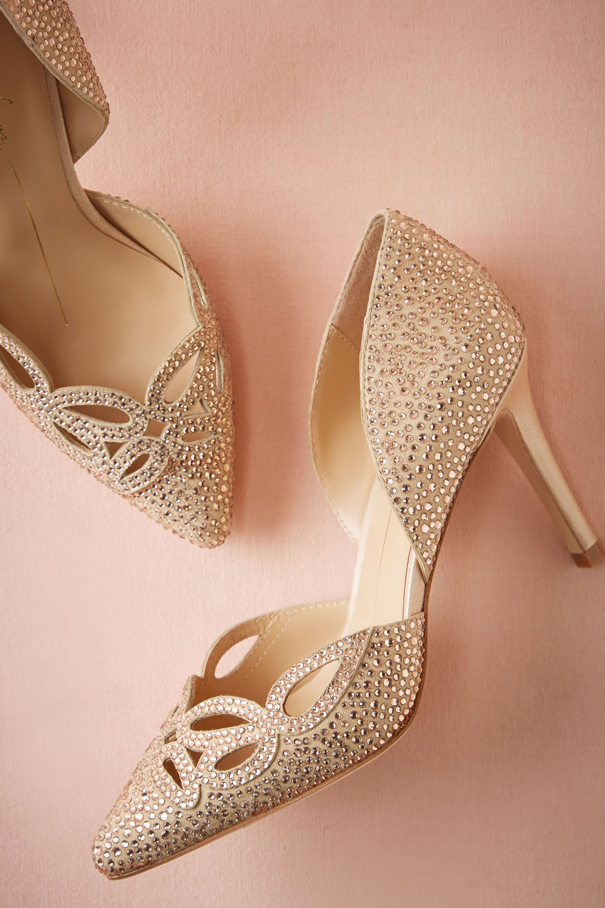 Crystallized Cutout Pumps