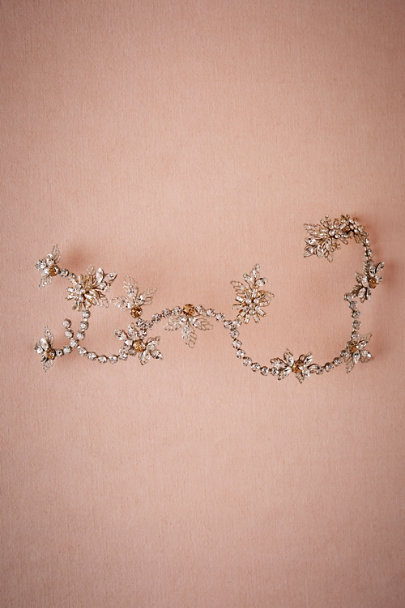 Debra Moreland Silver As You Wish Headpiece | BHLDN